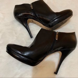 Via Spiga Black Ankle Boots